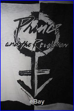 1984 Prince Rare Vtg Purple Rain Mtv T Shirt Tour Movie