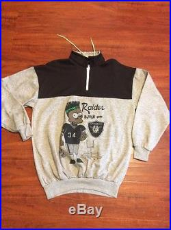 1990s Black Bart Simpson Bo Jackson Vintage Bootleg Xl Sweatshirt