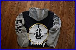 1991 PUBLIC ENEMY jacket vintage PE logo 90s Def Jam hip hop rap shirt L/XL
