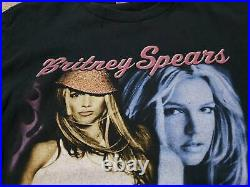 2004 Britney Spears Onyx Hotel Tour T Shirt HipHop Rap Tee Vintage size M