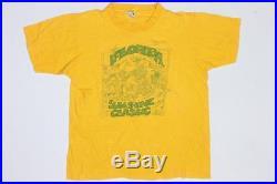 70s Vintage Nike Pin Wheel Classic Swoosh Race Running T Shirt S