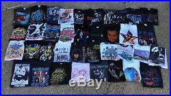 80s-90s Vintage Band T-Shirt Lot