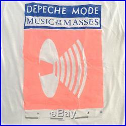 80s Vintage DEPECHE MODE tour shirt bauhaus clash black flag nirvana thin 90s