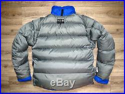 90s Rab Peak / Kinder Men's Down Smock Jacket L Made in Sheffield, UK Vintage