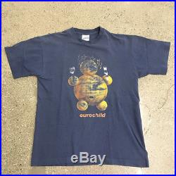 90s Vintage Massive Attack shirt bjork aphex twin underworld rave hiphop 2pac