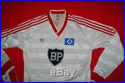 ADIDAS HAMBURGER SV SHIRT 80'S NEW VINTAGE FOOTBALL DEUTSCHLAND TRIKOT 80er
