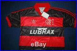 Adidas Cr Flamengo Shirt 1990 Football Jersey New Deadstock 90's Vintage Trikot