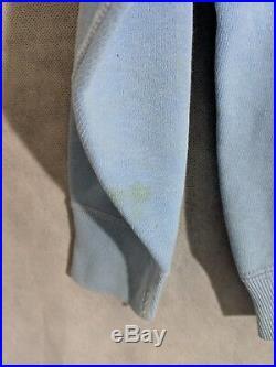 Air Force Academy Vintage 50s 60s Crewneck Athletic Sweatshirt Blue Size M USA