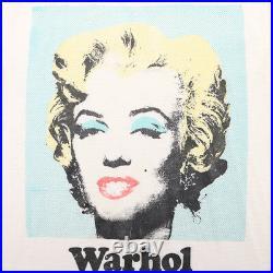 Andy Warhol Shirt Vintage tshirt 1980s Marilyn Monroe Portrait Hollywood Art