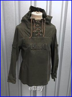 Anorak 60s Vtg Smock 1950's Parka Vtg Chore Jacket 1950s Mountain Smock Sz 36-38