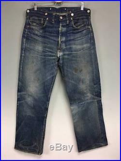 Antique 1922 Vintage LEVIS LEVI Levi's 501XX 501 Back Buckle Denim Pants Jeans