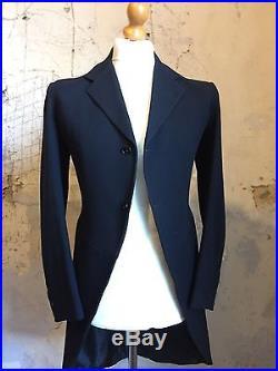 Arc 16 Vintage Edwardian 1907 Three 3 Piece Bespoke Morning Suit Size 38