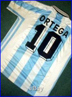 Argentina Wc 1998 France Ortega Authentic Vintage Jersey