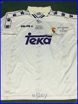 BUTRAGUEÑO REAL MADRID Lted. ED. JERSEY 1995 VINTAGE HARD 2 FIND JERSEY