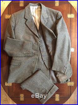 Bespoke 1960s 3 Three Piece Harris Tweed Shooting Suit ...