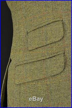 Bespoke West End Tailored Tweed Shooting Hunting Suit 40 Reg 3 Button Breeks