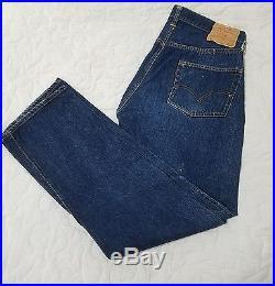 Big E Levis Vintage Jeans 36 x 36 1960s 34 x 32 Blue