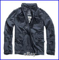 Brandit Britannia Winter Jacket Warm Lined M65 Field Coat Mens Vintage Parka