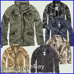 Brandit Jacke Britannia Vintage Neu Herren Sommer Übergangsjacke Bw Army Outdoor