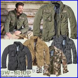 Brandit M65 Giant Feldjacke Neu Army Winterjacke + Futter Us Parka Outdoor Jacke