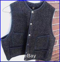 COLLECTOR EARLY Vintage 1920s 30s BROWN'S BEACH JACKET VEST Worcester MA NR