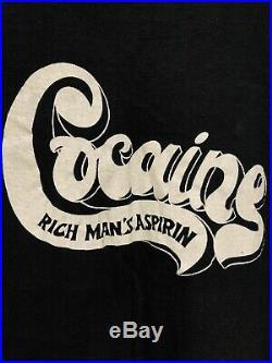 Cocaine 60s 70s Vintage Drug T-Shirt Coke Marijuana LSD Cannabis DMT Heroin
