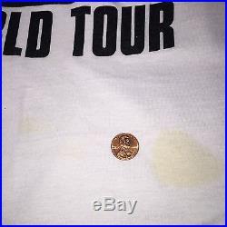 DAVID LEE ROTH 1986 Concert Tour Shirt Van Halen Steve Vai Motley Crue Ratt Y&T