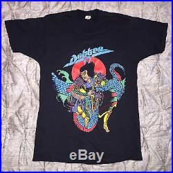 DOKKEN Vintage Screen Stars Shirt Metallica Iron Maiden Motley Crue Ratt Kix UFO