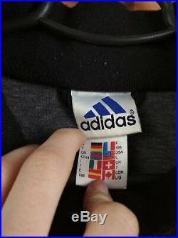 Germany DFB vintage retro jacket large training soccer football Adidas