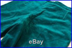 Granny Takes a Trip Velvet Trousers Vintage Pants Original 1970s Green 30x30