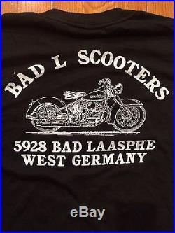 Harley Davidson 3D Emblem Hog Power VTG 1988 T Shirt Xl West Germany