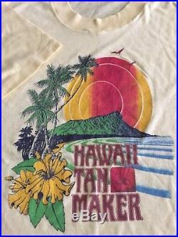 Hawaii Tan Maker vintage T shirt