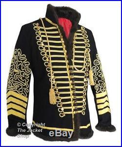 Hussars Jimi Hendrix Military Pelisse Tunic Jacket