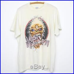 Iron Maiden Shirt Vintage tshirt 1988 Seventh Son Of A Seventh Son World Tour