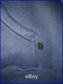 Johnny Blaze Hoodie Sweatshirt Men's XL. 90s vintage. Method Man clothing line