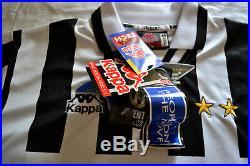 Kappa Juventus Shirt 1995/96 Football Jersey New Deadstock 90's Vintage Soccer