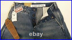 LEVIS VINTAGE CLOTHING 1920s BALLOON JEANS MED BLUE MENS SIZE 27