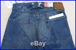 LEVIS Vintage Clothing 1915 501 LVC Cone Denim Selvedge Patched Jean Blue Men 26