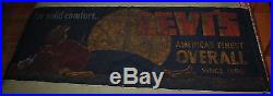 LEVI'S 1950'S ORIGINAL BANNER BIG E 501XX SELVEDGE 108 X 28 VINTAGE COWBOY