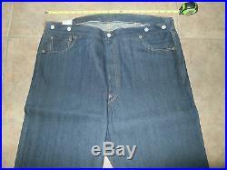 LEVI'S Men's LVC 501 XX SELVEDGE NWT 38 x 38 1917 Rigid Jeans Vintage Clothing
