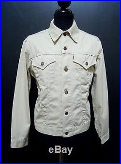 LEVI'S VINTAGE'60 BIG E Giubbotto Jeans Uomo Man Denim Jacket Sz. L 50