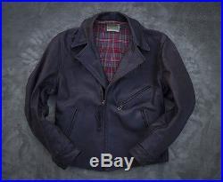 LVC Levis Vintage Clothing Aero Leather motorcycle Jacket Bird of Prey horsehide
