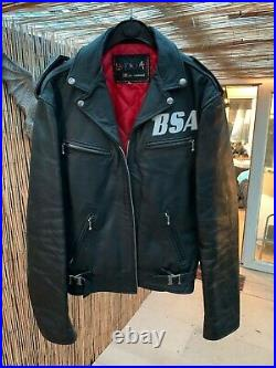 La rocka leather jacket