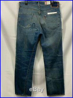 Levi's 501 Jeans 1955 Levi Vintage Clothing Selvedge Cone Denim Men's 32(33) x32
