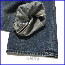 Levi's 501 Z XX 38 x 34 Vintage Clothing LVC 1954 Jeans Mens Capital E Selvedge