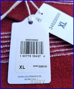 Levi's Vintage Clothing LVC 100% Wool Striped Sweater Mens Sz XL $285
