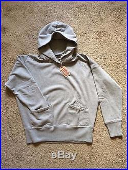 Levi's Vintage Clothing LVC Mens Heather Grey 1950's Hoodie Size L