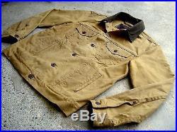 Levis Filson Trucker Jacket Vintage Oil Finish Tin Cloth