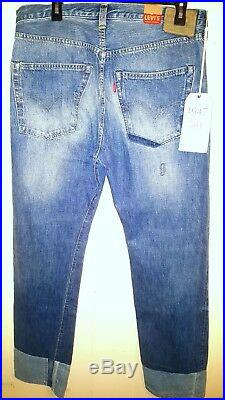 Levis Vintage Clothing 1947 Big E Selvedge Jeans Mens 33X32 NWT $350