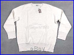 Levis Vintage Clothing LVC Jeans Mens L White Mele Bay Meadows Fleece Sweatshirt